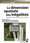 Livre numérique Dimension spatiale des inégalités