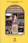 """Livre numérique Lectures croisées de Christoph Ransmayr : """"Le dernier des mondes"""""""
