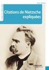 Livre numérique Citations de Nietzsche expliquées
