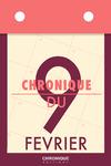 Livre numérique Chronique du 9  février