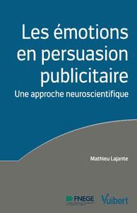 Livre numérique Les émotions en persuasion publicitaire