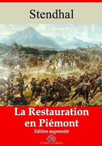 La Restauration en Piémont – suivi d'annexes