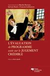 Livre numérique L'évaluation de programme axée sur le jugement crédible