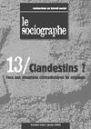 Livre numérique le Sociographe n°13 : Clandestins ?