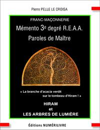 Livre numérique Mémento 3e degré R.E.A.A Paroles de Maître