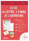 Livre numérique Le CV, la lettre, l'e-mail et l'entretien