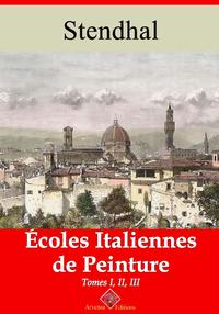 Écoles italiennes de peinture (3 tomes) – suivi d'annexes