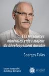 Livre numérique Les ressources minérales, enjeu majeur du développement durable
