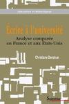 Livre numérique Écrire à l'université