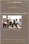 Livre numérique Reconstruction et réconciliation au Liban