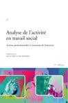 Livre numérique Analyse de l'activité en travail social