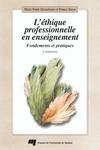 Livre numérique L'éthique professionnelle en enseignement - 2e édition