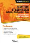 Livre numérique Servitude et soumission. La Boétie - Montesquieu - Ibsen - Épreuve littéraire - Prépas scientifiques - Concours 2017-2018