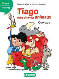 Livre numérique Tiago, baby-sitter des animaux 1 - Quel zoo !