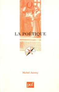La poétique, « Que sais-je ? » n° 2311