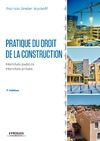 Livre numérique Pratique du droit de la construction