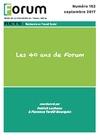 Livre numérique Forum 152 : Les 40 ans de Forum