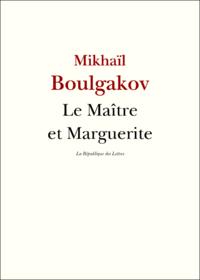 LE MAITRE ET MARGUERITE - PAVILLONS POCHE