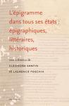Livre numérique L'épigramme dans tous ses états: épigraphiques, littéraires, historiques