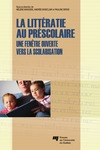 Livre numérique La littératie au préscolaire