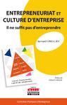 Livre numérique Entrepreneuriat et culture d'entreprise