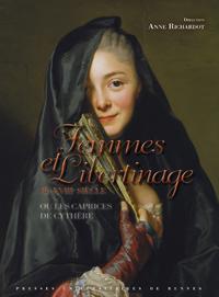 Image de couverture (Femmes et libertinage au XVIIIe siècle)