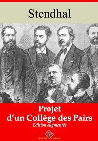 Projet d'un collège des pairs – suivi d'annexes