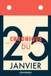 Livre numérique Chronique du 25  janvier