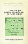 Livre numérique Florilège des Cahiers de doléances du Pas-de-Calais