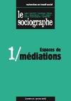 Livre numérique le Sociographe n°1 : Espaces de médiation