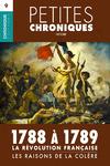 Livre numérique Petites Chroniques #9 : La Révolution française — 1788 à 1789, les raisons de la colère