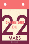 Livre numérique Chronique du 22  mars