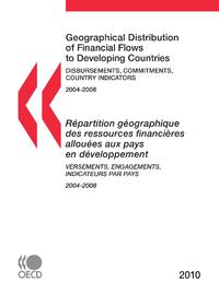 R?partition g?ographique des ressources financi?res allou?es aux pays en d?veloppement 2010