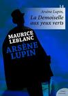 Livre numérique Arsène Lupin, La Demoiselle aux yeux verts