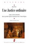 Livre numérique Une justice ordinaire