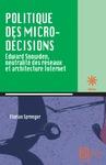Livre numérique Politique des micro-décisions