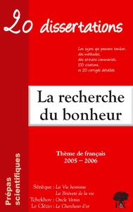 Livre numérique La Recherche du Bonheur - Prépas Scientifiques. Tchekhov, Le Clézio, Sénèque