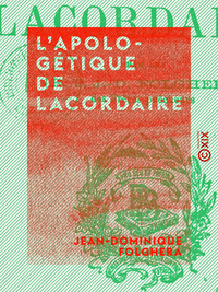 L'Apolog?tique de Lacordaire