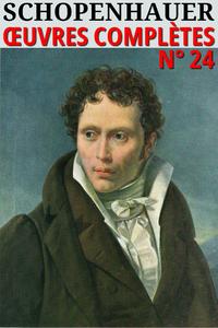 Schopenhauer - Oeuvres Complètes (24)