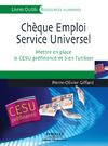Livre numérique Chèque emploi service universel