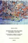 Livre numérique Inventaire des volumes de Bahia, 1673-1901