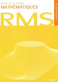 Livre numérique Revue de la filière mathématiques RMS 115-4