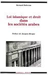 Livre numérique Loi islamique et droit dans les sociétés arabes