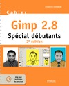 Livre numérique Cahier Gimp 2.8 - Spécial débutants