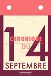 Livre numérique Chronique du 14 septembre