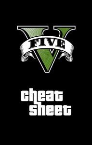 GTA V Cheat Sheet