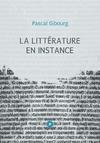 Livre numérique La littérature en instance