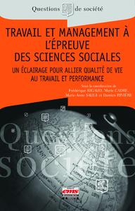 Livre numérique Travail et management à l'épreuve des sciences sociales