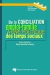 Livre numérique De la conciliation emploi-famille à une politique des temps sociaux