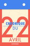 Livre numérique Chronique du 22  avril